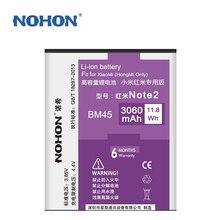 NOHON Battery 3060mAh BM45 For Xiaomi RedMi Hongmi Note2 Red Rice Note 2 Xiao Mi Best Quality