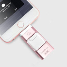 USB Flash Drive For iphone 7 6s 6 Plus 5 5S ipad Pendrive OTG 8GB 16GB 32GB 64GB Pen drive HD external storage memory stick