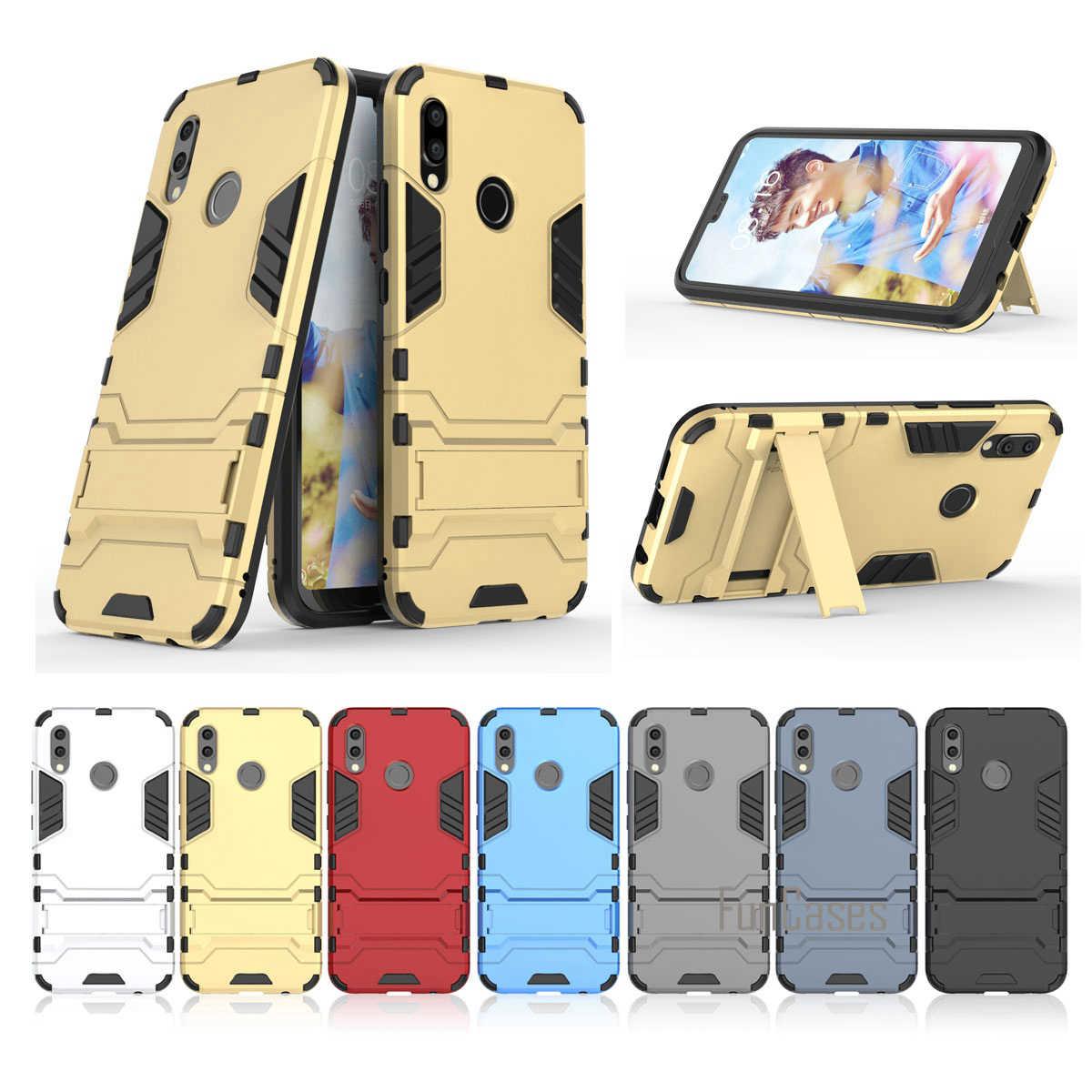 Mạnh Ốp Lưng Điện Thoại Huawei P20 Lite Coque Giáp Thả Bộ Thể Thao Lưng Capa Dùng Cho Huawei P20 Lite Fundas nắp Lưng