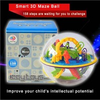 158 Steps Smart 3D Maze Ball Parent Child Interaction Games Intelligence Toy Magical Intellect Balance Logic