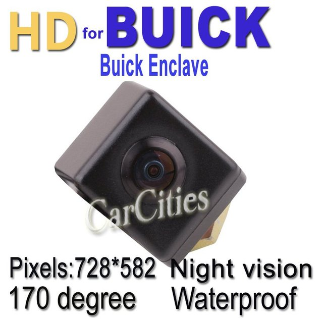 CCD car rearview camera170 degree for Buick Enclave Waterproof shockproof Night version Size:32*26.5*41 mm car par camera