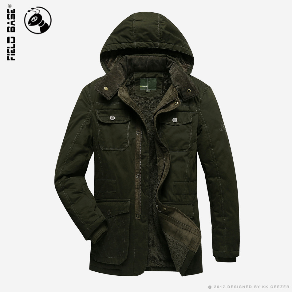Men Brand Winter Jacket Mens Windproof Parkas Coat Warm Thick 100% Cotton velvet Hooded Windbreakers  Plus Big Size 4XL BB369 winter jackets men plus size parkas fashion cotton padded warm winter coat plus velvet thick hooded over coat down army green