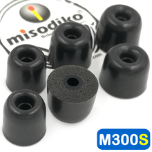Misodiko M300S رغوة الذاكرة سماعات الأذن نصائح ل Shure SE215 SE315 SE535 SE425 SE846/Westone/Klipsch/Etymotic ER4XR HF3 HF5
