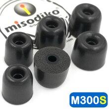 Misodiko m300s memória espuma fones de ouvido dicas para shure se215 se315 se535 se425 se846/westone/klipsch/etymotic er4xr hf3 hf5