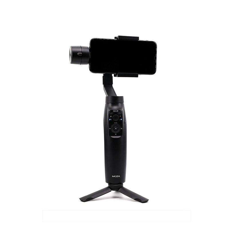 Stabilisateur de téléphone portable mini-mi de haute qualité sans fil chargeur Anti-secousse stabilisateur de trépieds PTZ pour téléphone portable noir