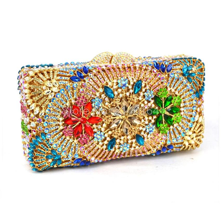 Les Sacs Main Haut Côtés Fleur Styling Parti Soirée Gamme À En 528 Bourse De Dame D'embrayage Jour La Mariage Cristal Embrayages Diamant Deux Sac I6IwqOr