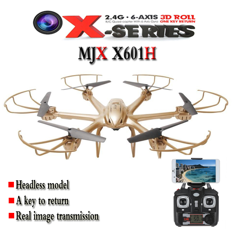 RC Drone MJX X601H WIFI 3D Flip Headless Altitude Hold Mode FPV Camera Helicopter Remote Control Toys jjrc h39wh h39 foldable rc quadcopter with 720p wifi hd camera altitude hold headless mode 3d flip app control rc drone