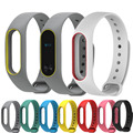 High Quality Silicone Colorful Straps Replacement For Xiaomi Mi Band 2 Wrist Strap Miband 2 Smart Wristband Bracelet Accessories