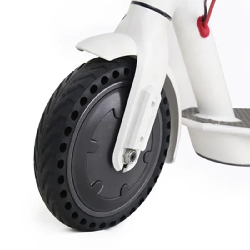 Solid Scooter Tire Installation Video Anti-slip 8.5