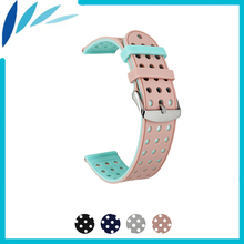 Silicone Rubber Watch Band 18mm 20mm 22mm for Timex Weekende