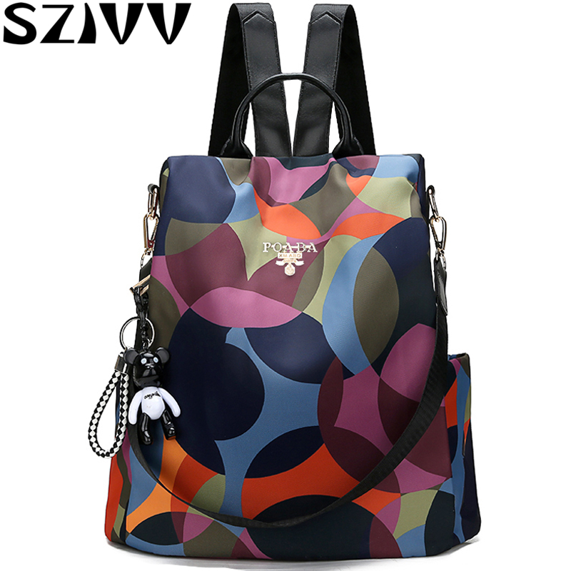 New 2019 Backpack Women Oxford Multi Function Backpack Casual Anti Theft Backpack for Teenager Girls Schoolbag Sac A Dos mochilaNew 2019 Backpack Women Oxford Multi Function Backpack Casual Anti Theft Backpack for Teenager Girls Schoolbag Sac A Dos mochila
