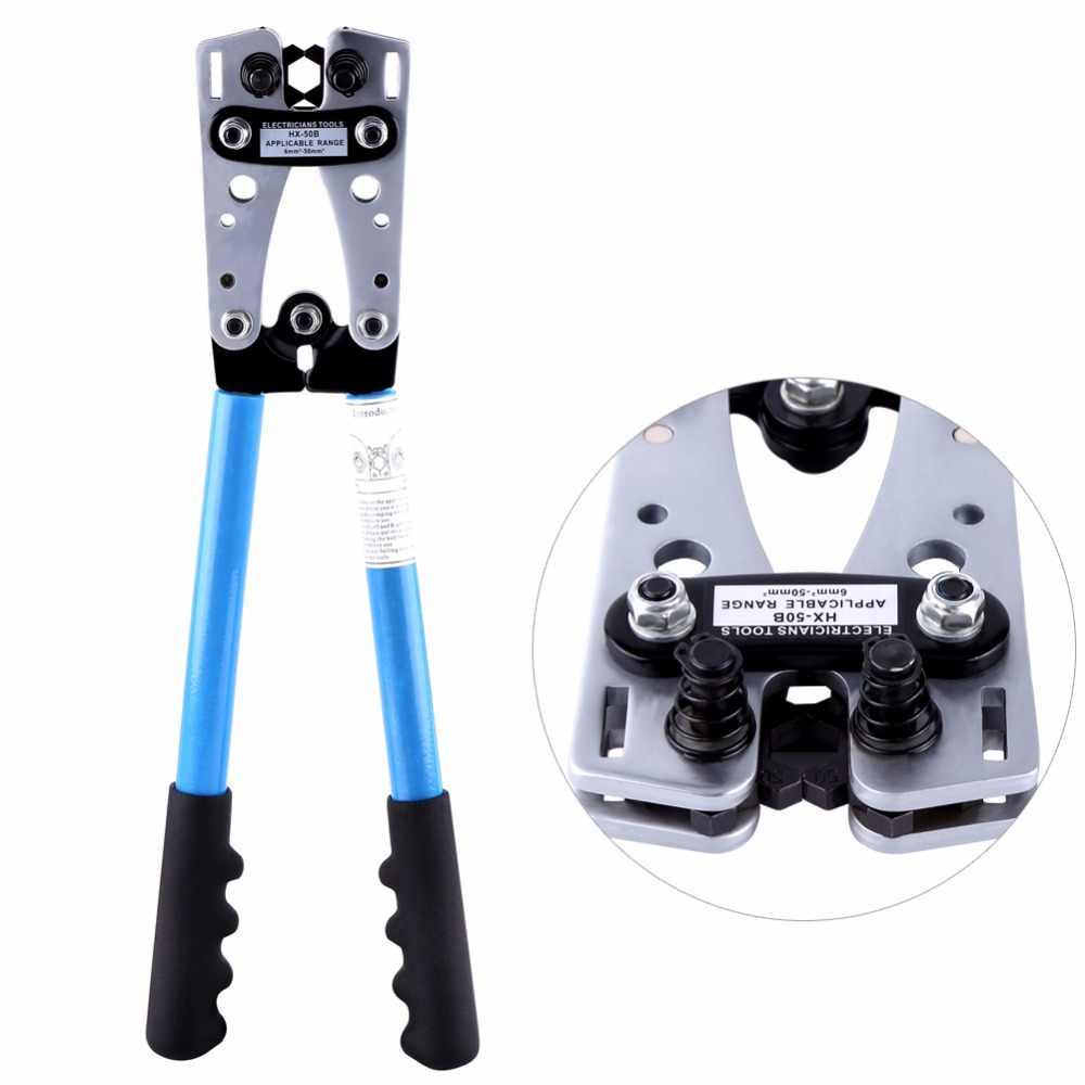 Профессиональный инструмент для зачистки проводов, обжимные плоскогубцы, шестигранные Обжимные Щипцы, обжимной инструмент, ручной инструмент
