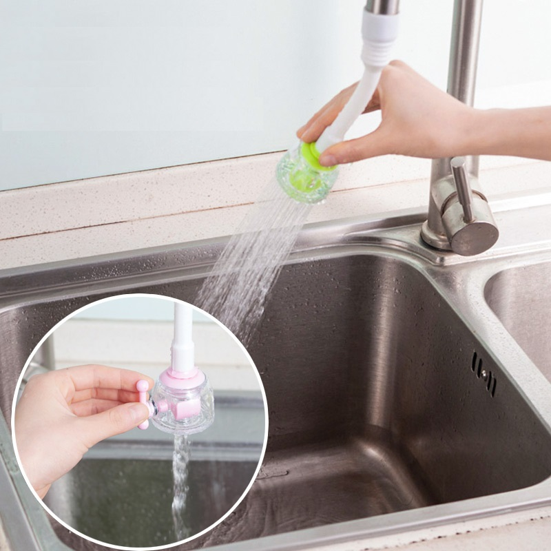 Great 360 Degree Rotatable Kitchen Faucet Extender Sprayer Spout With Valve