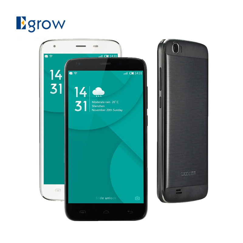 Original DOOGEE T6 Pro Android 6.0 Cell Phones 5.5 inch MT6753 Octa Core Mobile Phone 3G RAM 32G ROM 6250mAh 13.0MP Smartphone