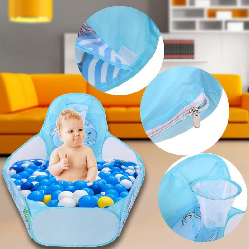 New Child Tent Foldable Ocean Balls Pit Pool Outdoor Indoor Baby Kids Play House Toy Tent High Quality Birthday Gift