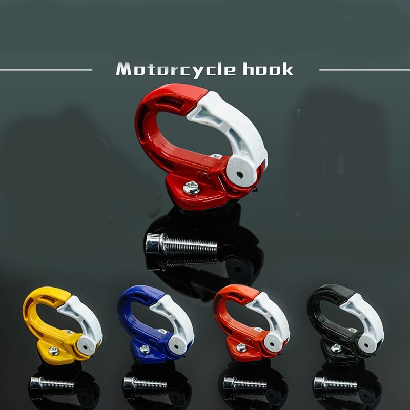 New Arrival Universal Aluminum Motorcycle Hook Handlebar Luggage Claw Hanger Hook Storage Bag Holder