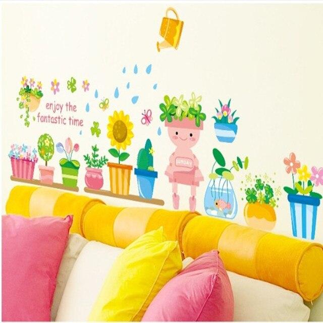 The New Water Park Wall Stickers Stickers Winnie The Pooh Children Bedroom  Decoration Am815 Kindergarten Classroom Part 55