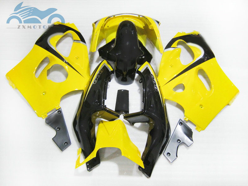 ZXMOTO Motorcycle Bodywork Fairing Kit for Suzuki GSXR 600 GSXR 750 2004-2005 Pieces//kit: 10