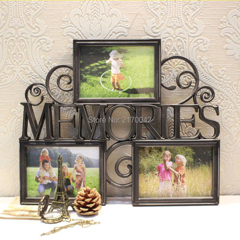vintage family wall photo picture frame multi memory photo frame for wall art hanging album home