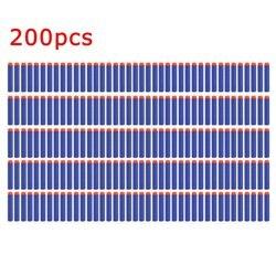 50/100/200 Pcs Leichte, Weiche Gun Air Gun Bullets Darts EVA Kugel Darts Für NERF N- strike Serie Blasters Kind Für Spielzeug Pistole