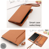 leather hand Leather Smart Case For Huawei MediaPad M5 10.8 Pro CMR-AL09 CMR-W09 10.8 inch Tablet Stand Cover Hand strap Storage pocket (5)