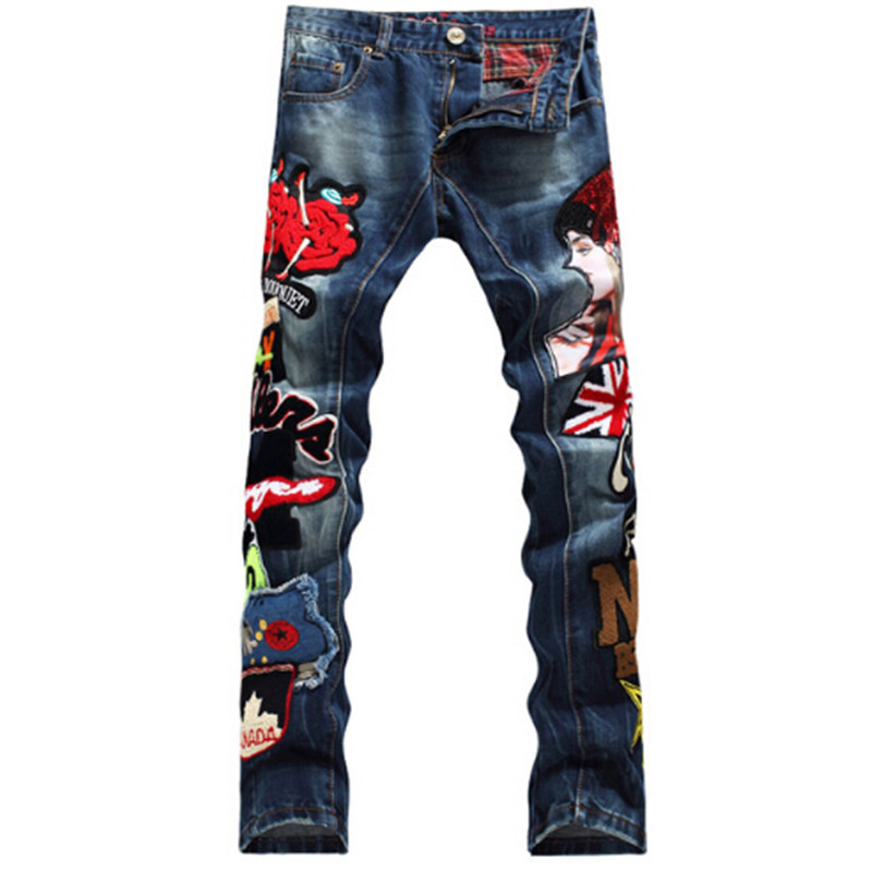BP High Quality Punk Jeans Men Fashion Designer Ripped Rap ...