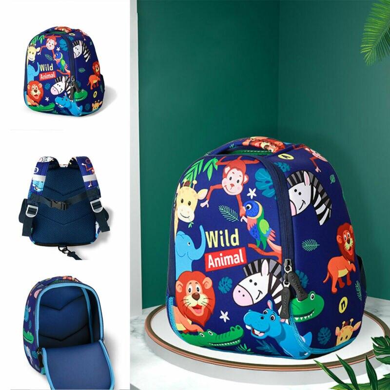 Child Kid Anti-Lost Nursery School Bag Stars Backpack Kindergarten Lightweight Baby Girl Boy School Belt Bag Anti Theft Backpack