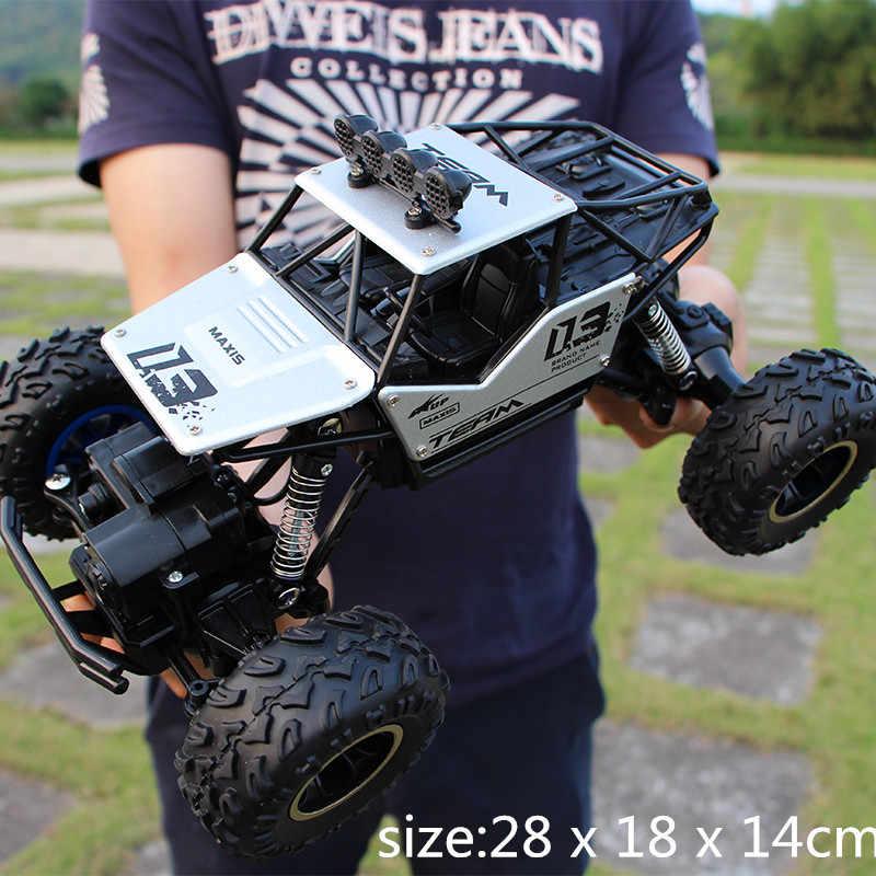 1/12 rc カー 4WD 登山車 4 × 4 ダブルモータードライブビッグフット車リモート制御モデルオフロード車のおもちゃ子供のためのギフト