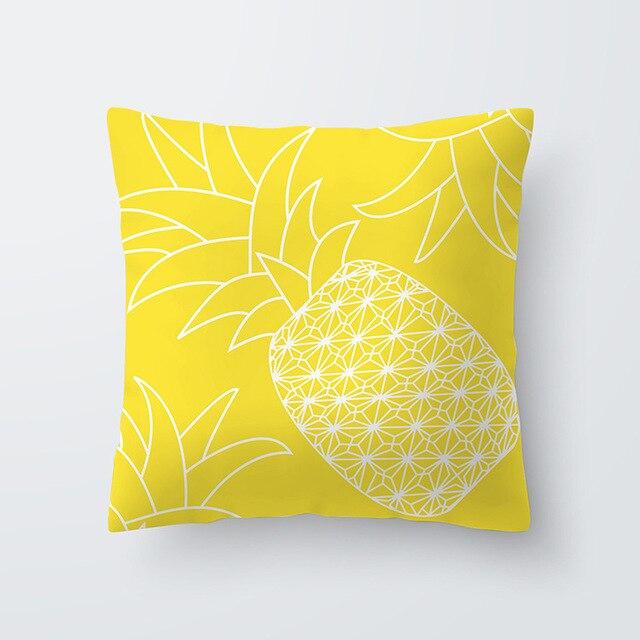 Yellow pillowcse 16