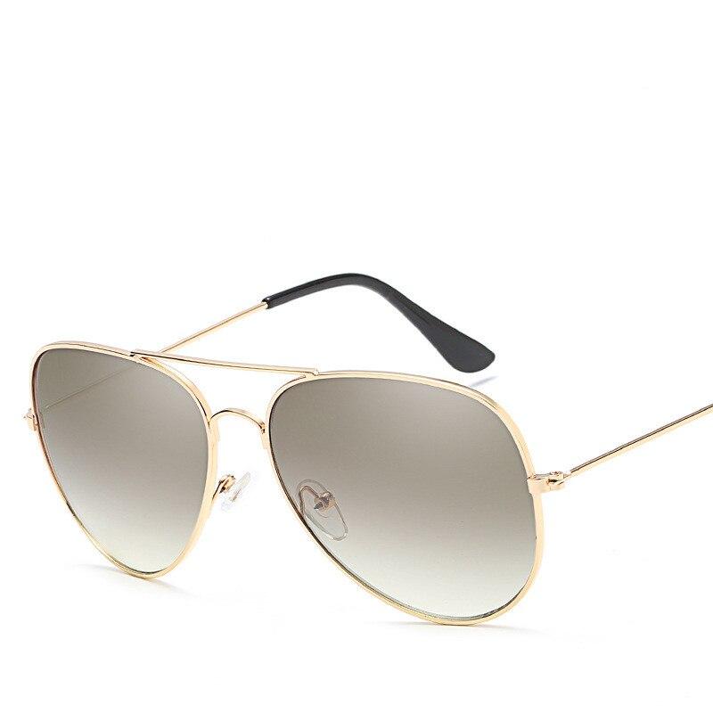 2018 Femmes New Fashion Lunettes De Soleil Retro Metal Bright Sunglasses, 017