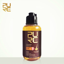 PURC Ginger Shampoo 100ml Professional Anti Loss Hair Growth Hair Scalp Treatment Shampoo Repair Hair Root Thicken Hair purc anti hair loss hair shampoo organic handmade cold processed ginger shampoo bar and natural no chemicals preservatives