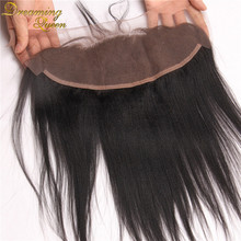 13x4 Light Yaki Lace Frontal Closure With Baby Hair Peruvian Yaki Straight Lace Frontal Italian Yaki