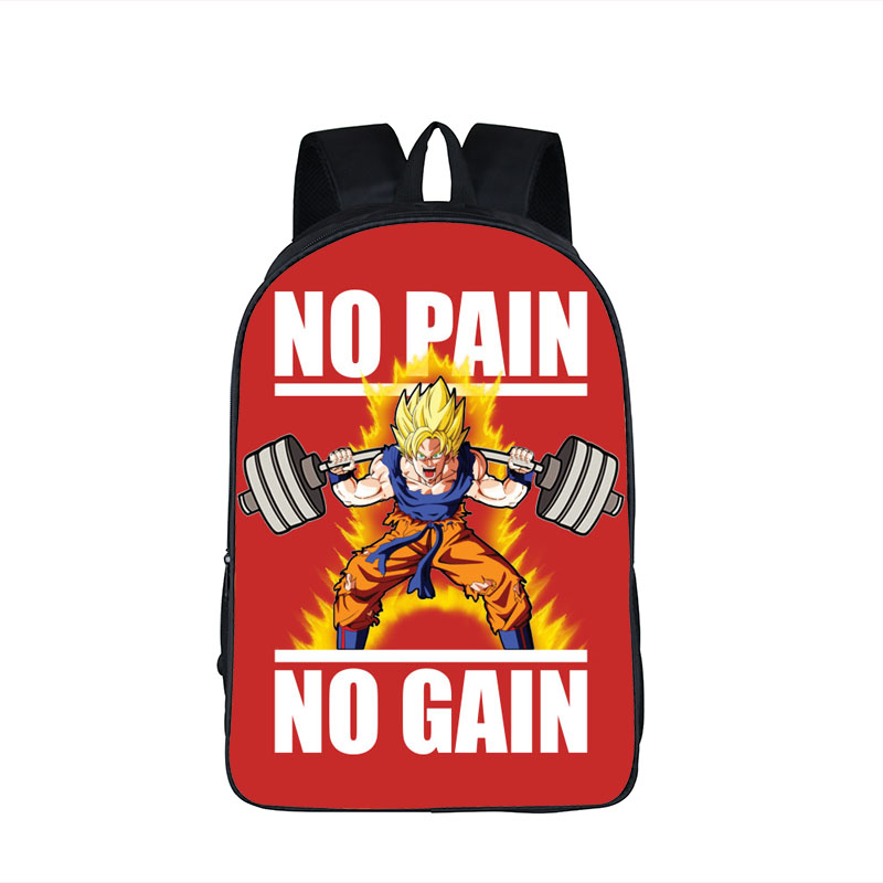 Cartoon Dragon Ball Backpack Beat Goku Saiyan Children School Bags For Teenage Student Backpack Girls Boys Daypack Kids Gift bag primary children cartoon mickey school bags 2016 kids cartoon backpack waterproof schoolbags satchel for boys and girls