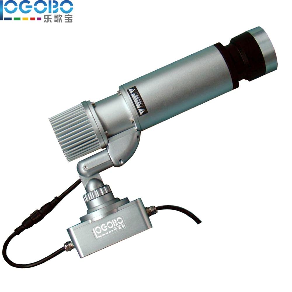 Venta al por mayor Barato personalizado 20W LED Logo Proyector Publicidad Letreros Led Ventana Luces Cara Pantalla Led Gobo Proyector, 2PCS / Lot