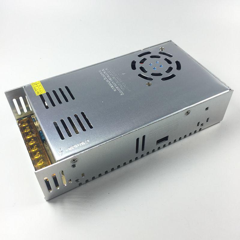 Светодиодный источник питания 12В 30A 360W Светодиодный светильник ing трансформатор для Светодиодный пропилен-каучука прокладки с вентилятор автоматически работать светодиодный модули Светодиодный бар светильник