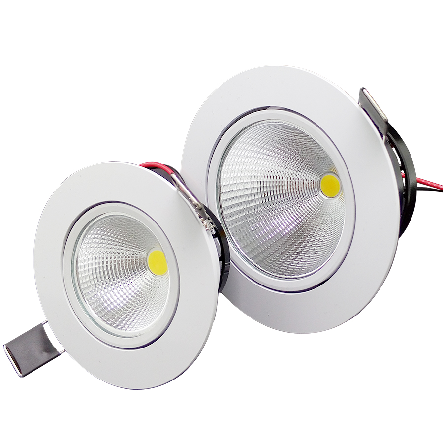 1 Stück Home LED Cob Epistar Einbau Downlight dimmbar 5W / 10W LED - Innenbeleuchtung - Foto 2