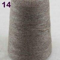 Sales 1X500g High Quality 100 Pure Cashmere Warm Soft Hand Woven Tower Yarn Khaki 262 5014