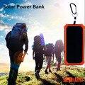 Grande capacidade de 50000 mah powerbank banco de energia solar portátil usb carregador de 18650 banco de potência de celular para iphone ipad samsung pk xiaomi