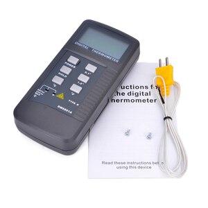 Image 5 - High Precision Lcd Display Digital Thermometer Pyrometer Temperature Meter with K Type Probe Measuring Range 50 1300 Degree