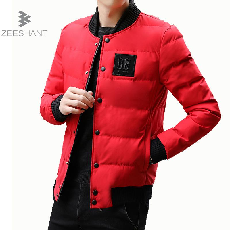 ZEESHANT Autumn Winter Parka Light Men Jacket Coat Outerwear Fashion Hood Padded Quilted Warm Male Jackets Hooded Casual Wadde winter jacket men 2016 brand parka plus size men s hooded parka zipper quilted coat casual jackets