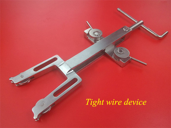 Orthopedics instrument stainless steel bilateral wire tightener tight wire device for binding string orthopedist use tool