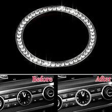 Барбекю @ fuka автомобиля внутренний инструмент часы крышку декор отделка кольцо Стикеры подходит для LR Discovery 4 Range Rover Freelander 2 2010-2013