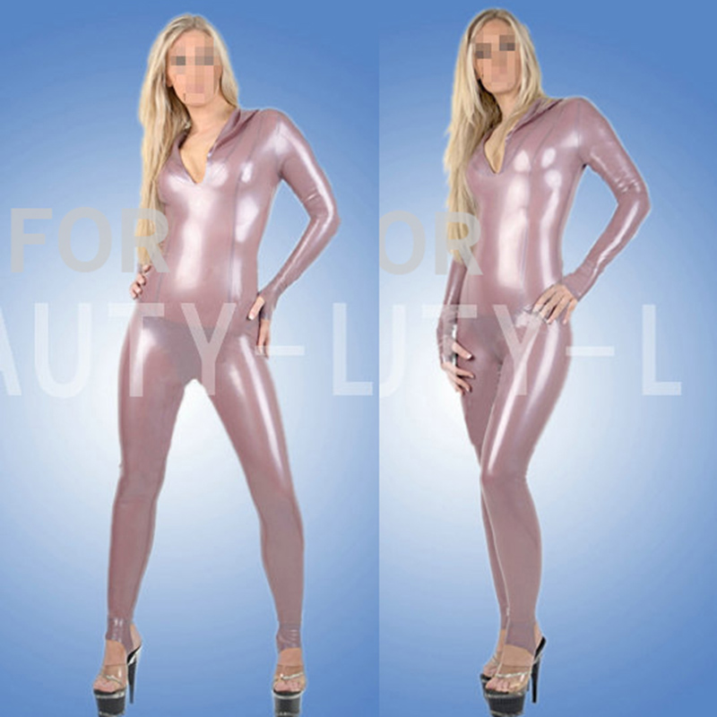 100% catsuit fétiche en latex naturel, sexy, serré, leggings