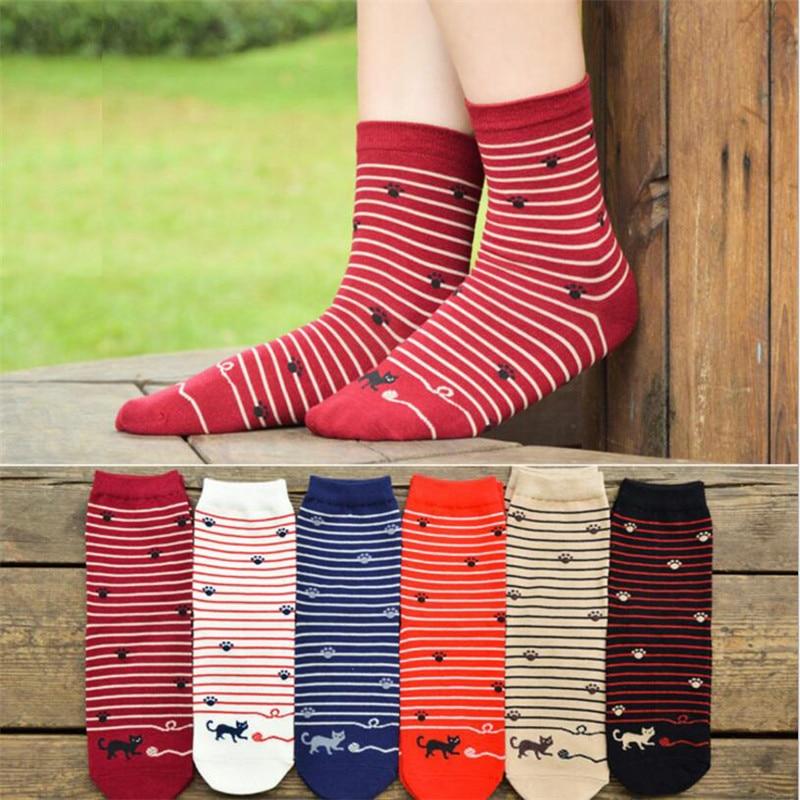 High quality cartoon socks women autumn-winter funny animal socks fashion ladies and women Cute cotton patterned sock