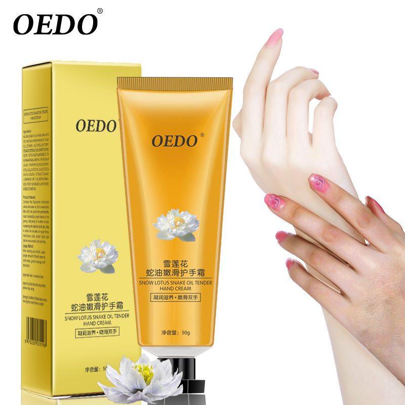 все цены на Snow Lotus Snake Oil Tender Hand Cream Hand Care Antibacterial Anti-chapping Whitening Nourishing Anti-Aging Skin Care Cream онлайн