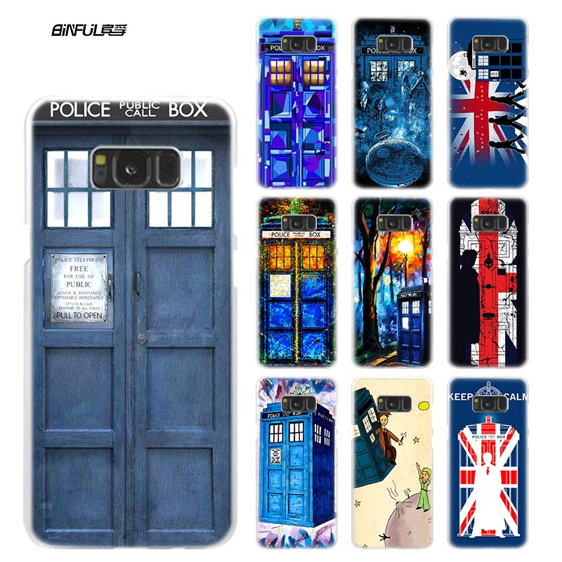 Fitted Cases Lvhecn Tpu Skin Phone Case Cover For Samsung Galaxy S5 S6 S7 S8 S9 S10 Edge Plus S10e Lite Note 5 8 9 Tardis Doctor Who Canvas At All Costs