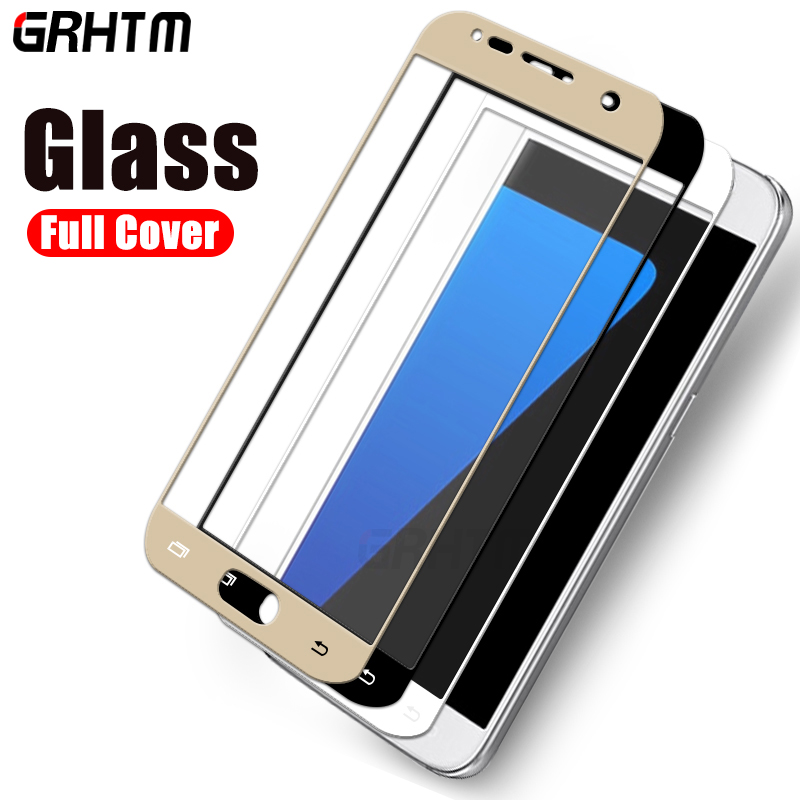 Full Cover Tempered Glass on the For Samsung Galaxy J3 J5 J7 A3 A5 A7 2016 2017 S7 S6 Screen Protective Glass Protective FilmFull Cover Tempered Glass on the For Samsung Galaxy J3 J5 J7 A3 A5 A7 2016 2017 S7 S6 Screen Protective Glass Protective Film