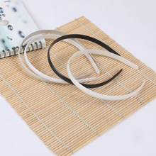 A034 Wholesale quality DIY environmental plastic ABS hairbands accessories stretchable toothless hair band 1CM 30PCS/lot
