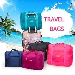 Nova moda bolsa de viagem à prova dunisex água unissex bolsas de viagem feminina bagagem de viagem dobrável sacos grande capacidade saco atacado
