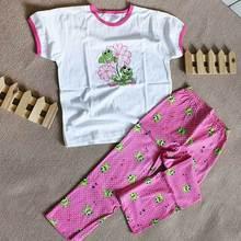 Lejin/комплект детской одежды для девочек; Детские пижамные комплекты; одежда для сна для девочек; хлопковый трикотажный жакет
